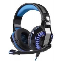 Casque Micro Gaming USB Snopy Rampage Rivia G20 / Noir & Bleu