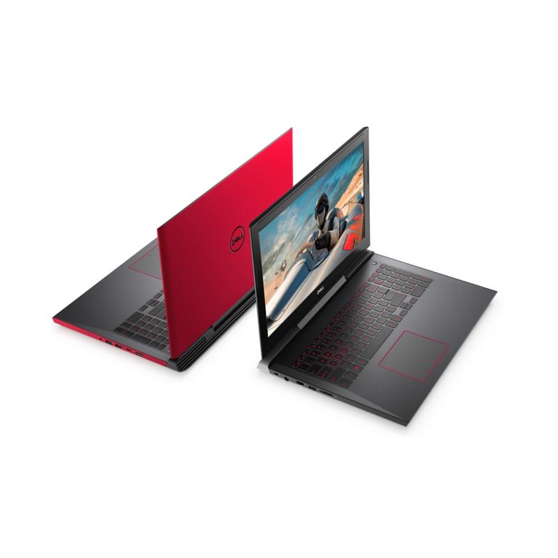 Pc Portable Dell Inspiron 7577 / i7 7è Gén / 16 Go / Rouge + SIM Orange  Offerte 30 Go + Internet Security Bitdefender