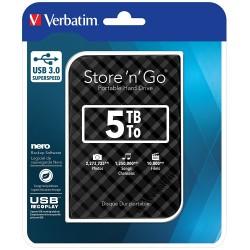 Disque Dur externe Verbatim Store'n' Go USB 3.0 / 5 To