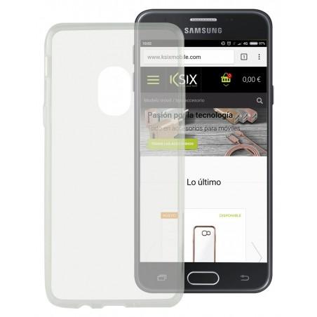 Etui Ksix Flex pour Galaxy J5 2017 / Transparent