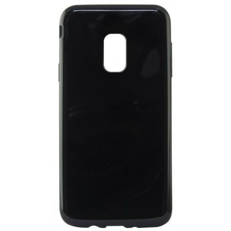 Etui Ksix Flex pour Galaxy J7 2017 / Noir