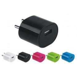 Adaptateur Secteur USB Acqua 1A / Bleu