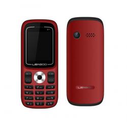 Téléphone Portable Leagoo D1 / Double SIM / Rouge + SIM Offerte