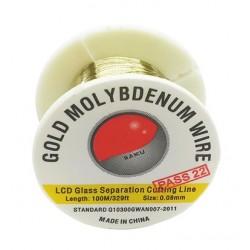 Fil Molybdène de Séparation Ecran LCD 0.08 mm