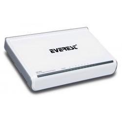 Switch de bureau Gigabit Everest GM-80G / 8 Ports / 10/100/1000 Mbps