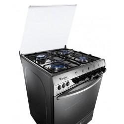 Cuisinière 4 Feux 55 cm Condor Q4510G / Silver