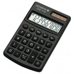 Calculatrice de poche 10 chiffres Olympia LCD 1110 / Noir