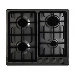 Plaque de cuisson MontBlanc 4 feux 60 cm / Noir