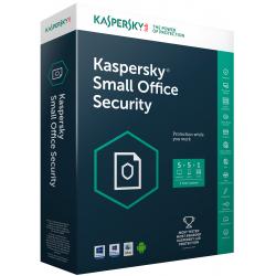 Kaspersky Small Office Security 2017 / 50 Pcs + 5 serveurs