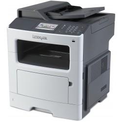 Imprimante Multifonction Laser Noir & Blanc Lexmark MX417de / Réseau / Recto-Verso