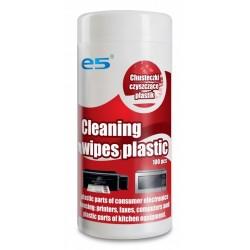 100x Lingettes de nettoyage plastique E5 RE02520