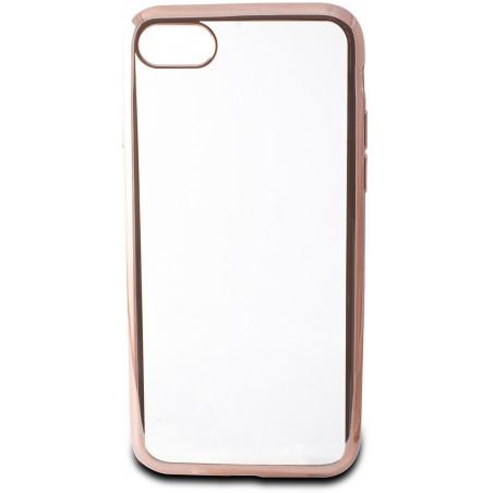 Etui TPU Ksix Brush Flex Pour iPhone 7 / Flex Metal Rose