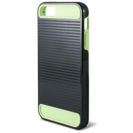 Etui de Protection kSIX Pour iPhone SE, 5, 5S / Black & Vert