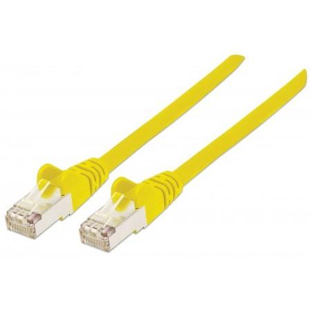 Câble réseau 1M CAT6a S / FTP / Jaune