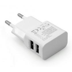Adaptateur secteur 2 USB / 2A