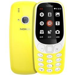 Téléphone Portable Nokia 3310 / Double SIM / Jaune