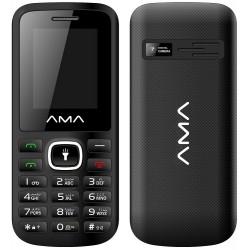 Téléphone Portable AMA P1 Plus / Double SIM / Noir