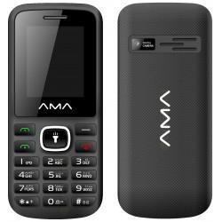 Téléphone Portable AMA P1 Plus / Double SIM / Noir & Gris