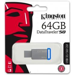 Clé USB Kingston Kingston DataTraveler 50 USB 3.0 / 64 Go