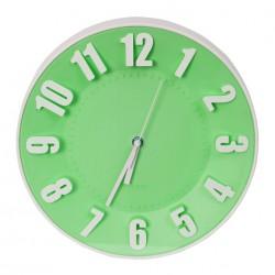 Horloge murale Platinet PZTGC / Vert