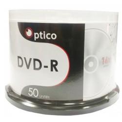 Bobine Optico 50x DVD-R 4.7 Gb Imprimable