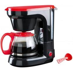 Cafetière électrique DomoClip Mini Kitchen DOD115 / Noir & Rouge / 6 Tasses