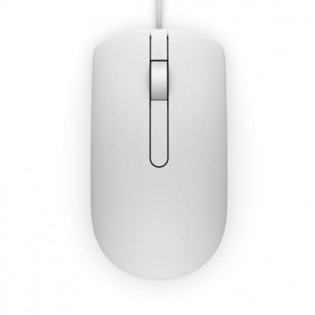 Souris optique Dell MS116 / Blanc