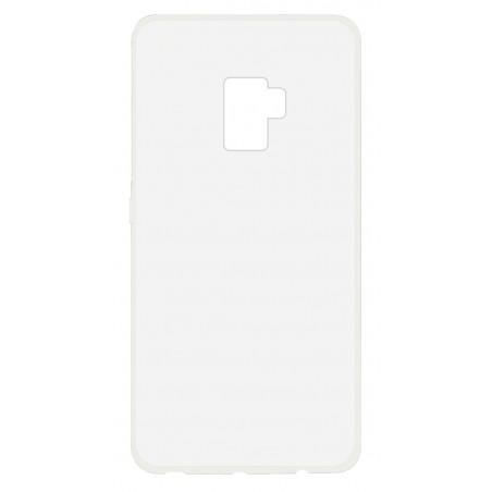 Etui Ksix Ultrafine Flex pour Galaxy S9 Plus / Transparent