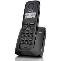 Téléphone Sans Fil Gigaset A116 / Noir