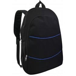 """Sac à Dos pour Pc Portable 15.6"""" / Noir & Bleu"""