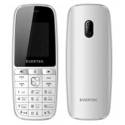 Téléphone Portable Evertek VAMOS / Double SIM / Blanc