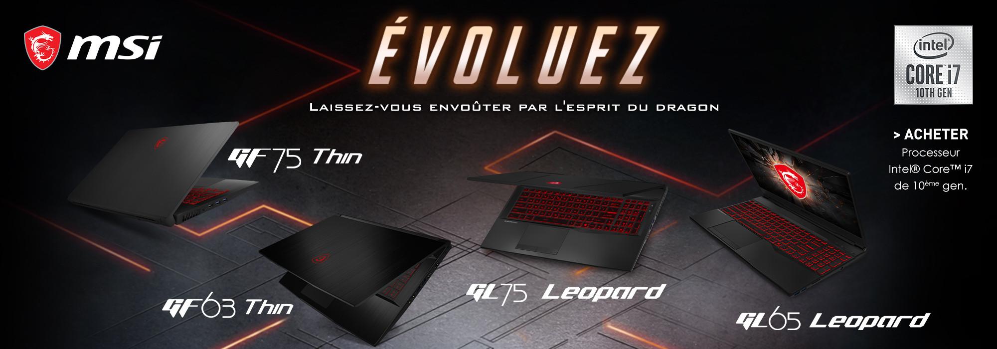 MSI Gaming GF63 Leopard
