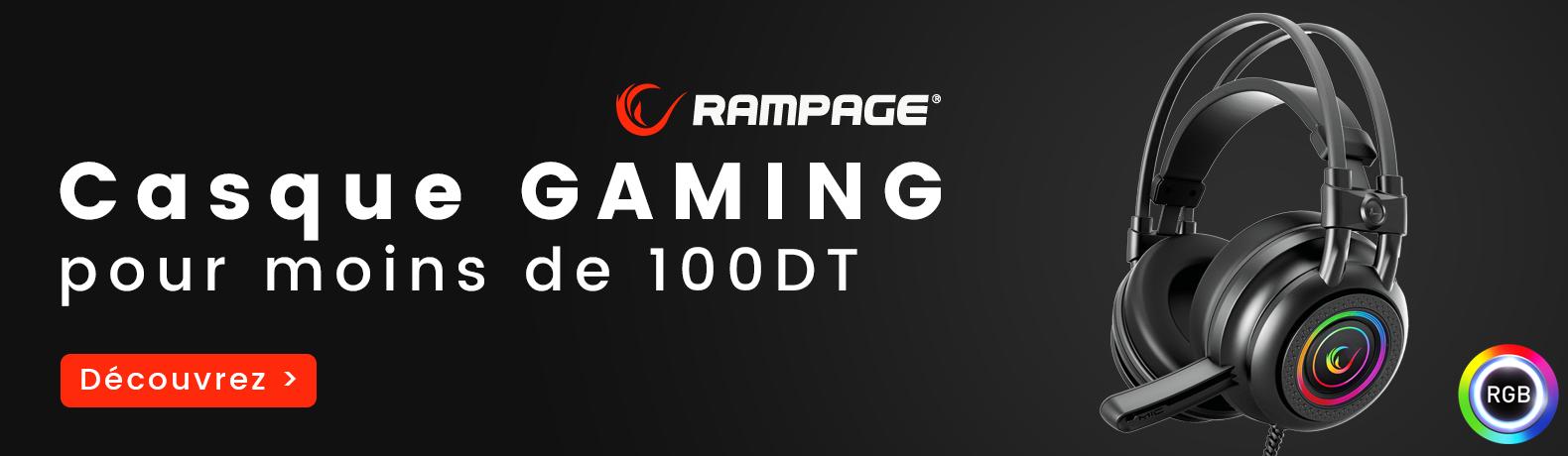 Casque Gaming Tunisie Moins 100dt