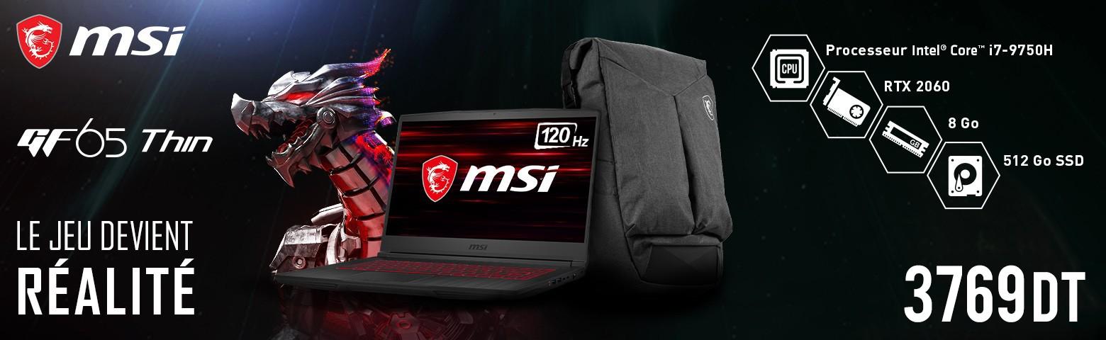 MSI Gaming GF65 Thin