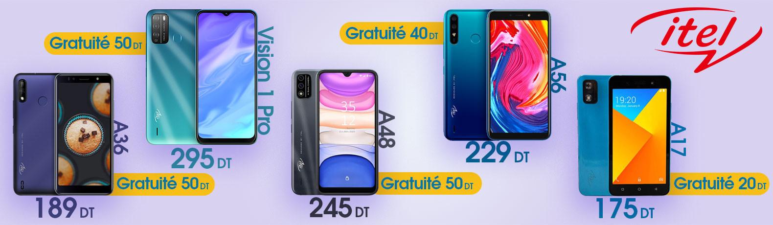 itel phone Tunisia