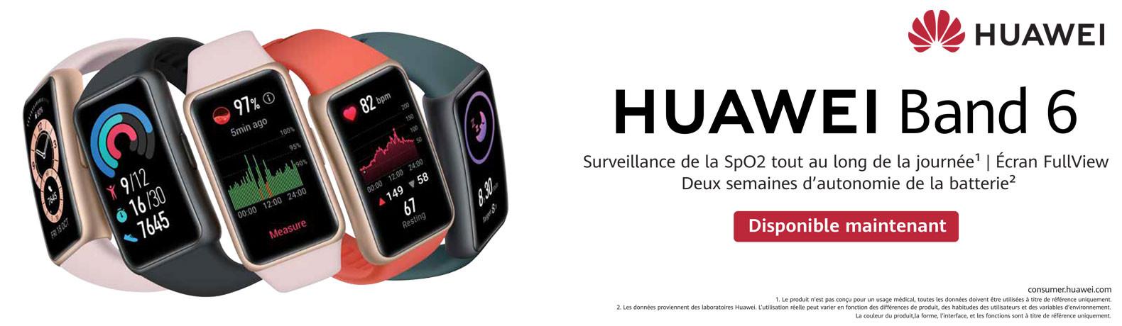 Smartwatch Tunisie Huawei