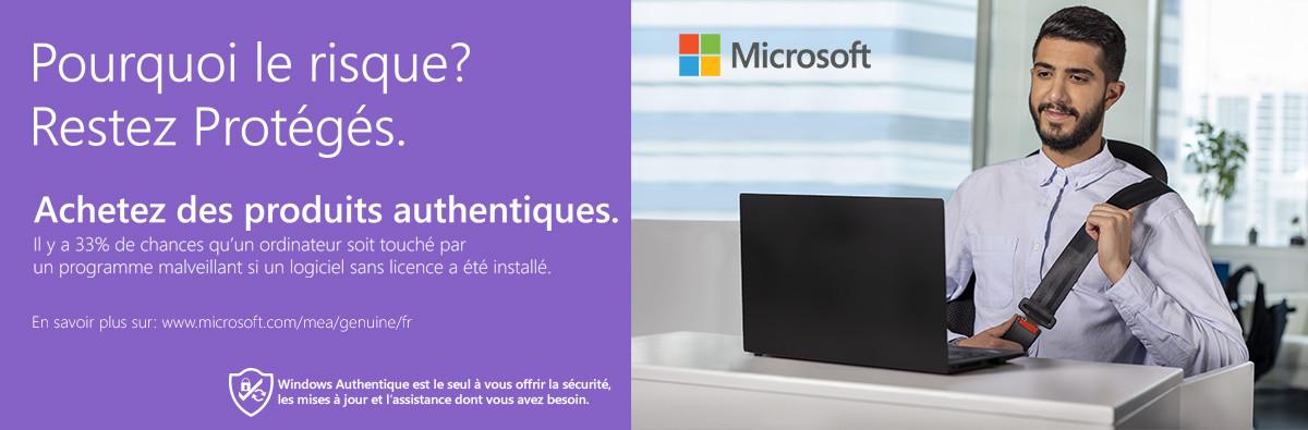 Achetez des produits Microsoft authentiques